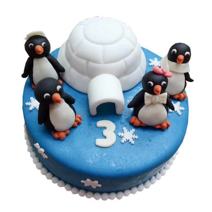 Dort s tučňáky