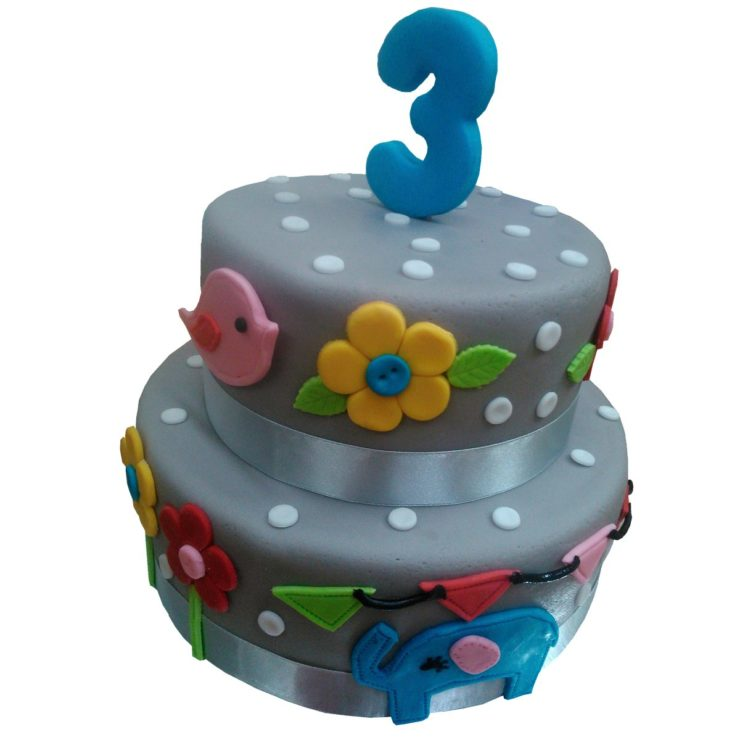 Patrový dětský dort vyšší