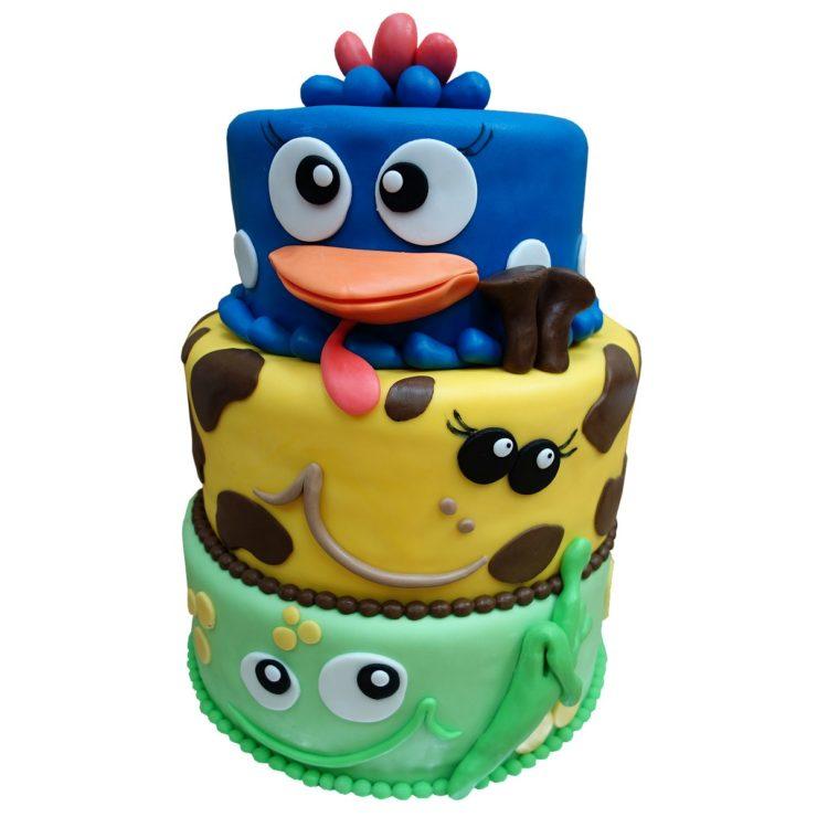 Patrový crazy dort