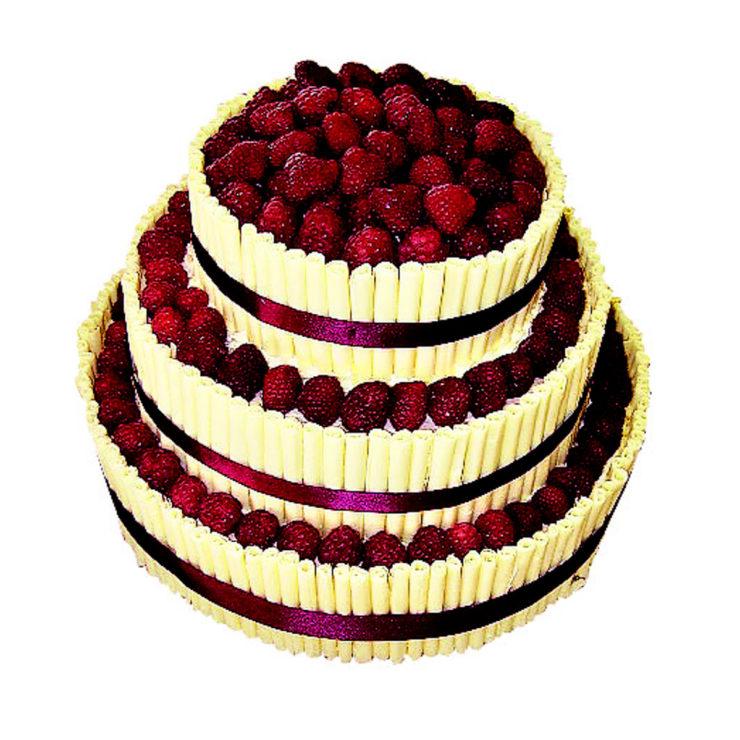 Patrový dort s ovocem