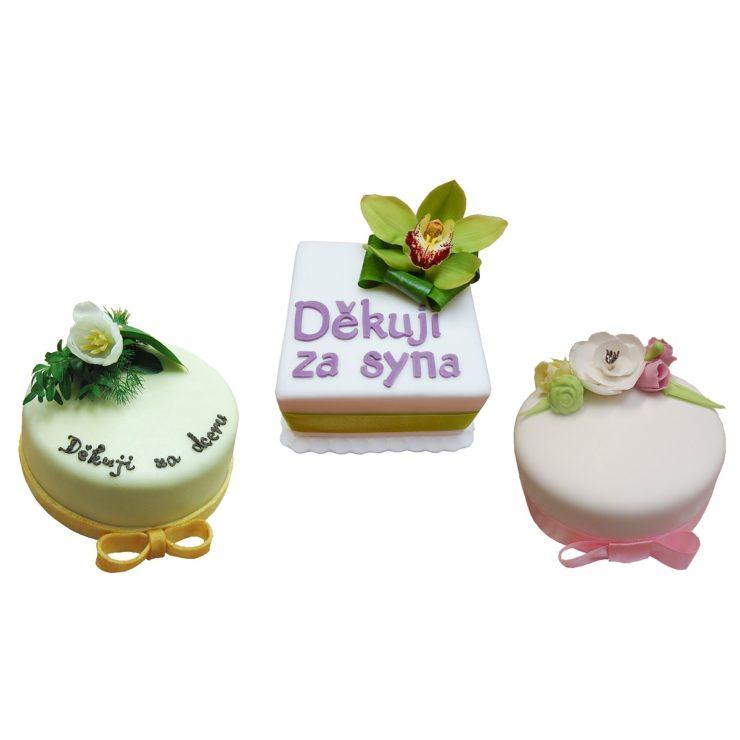 Děkovné dorty