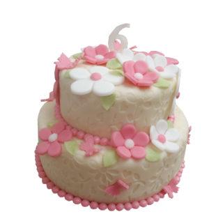 Holčičí patrový dort