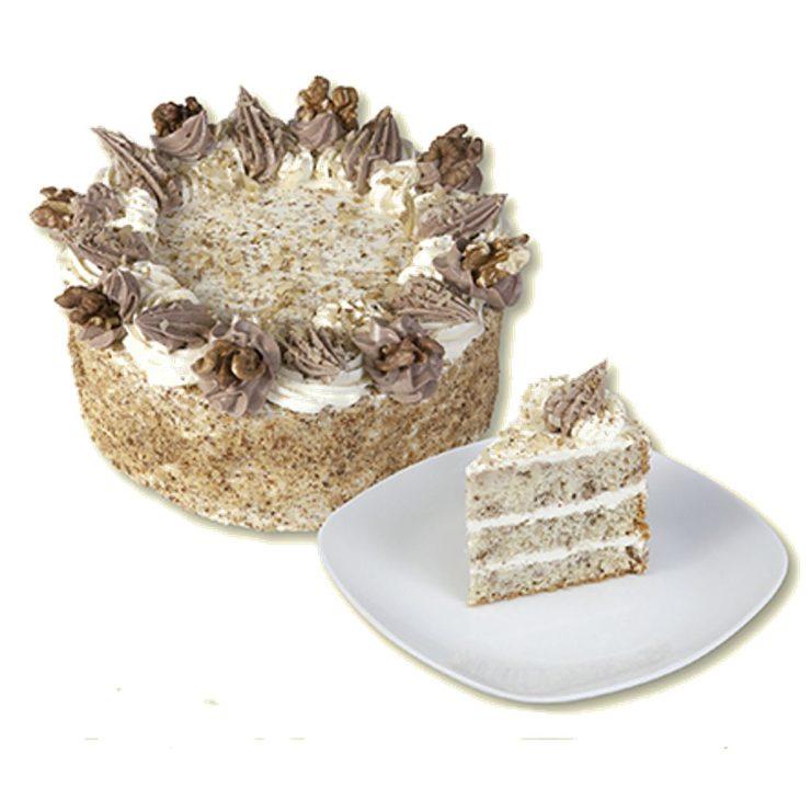 Ořechový dortík s náhradním sladidlem
