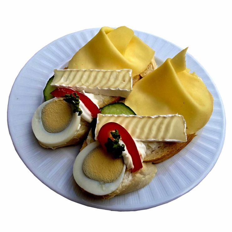 Královský chlebíček