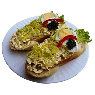 Sardelový chlebíček