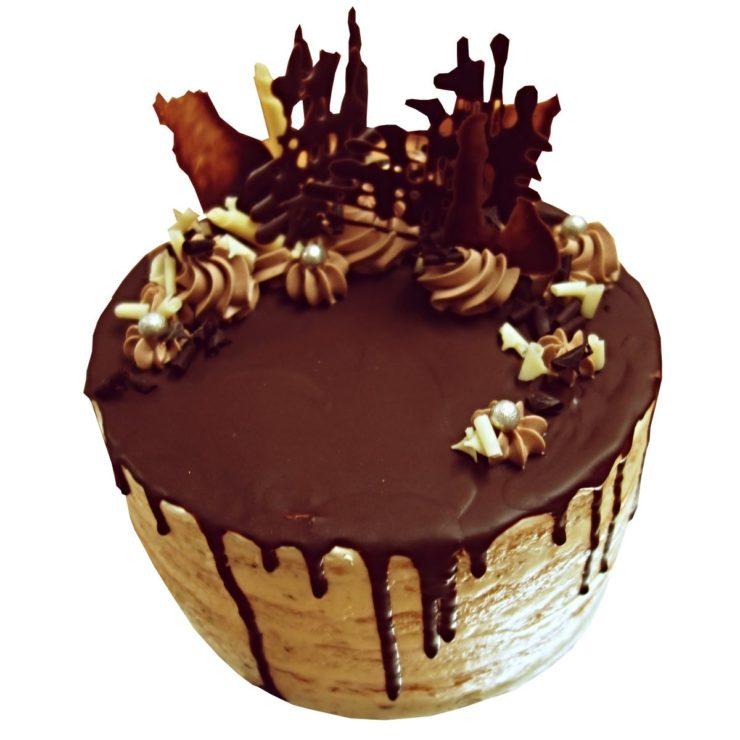 Nahý crazy dort