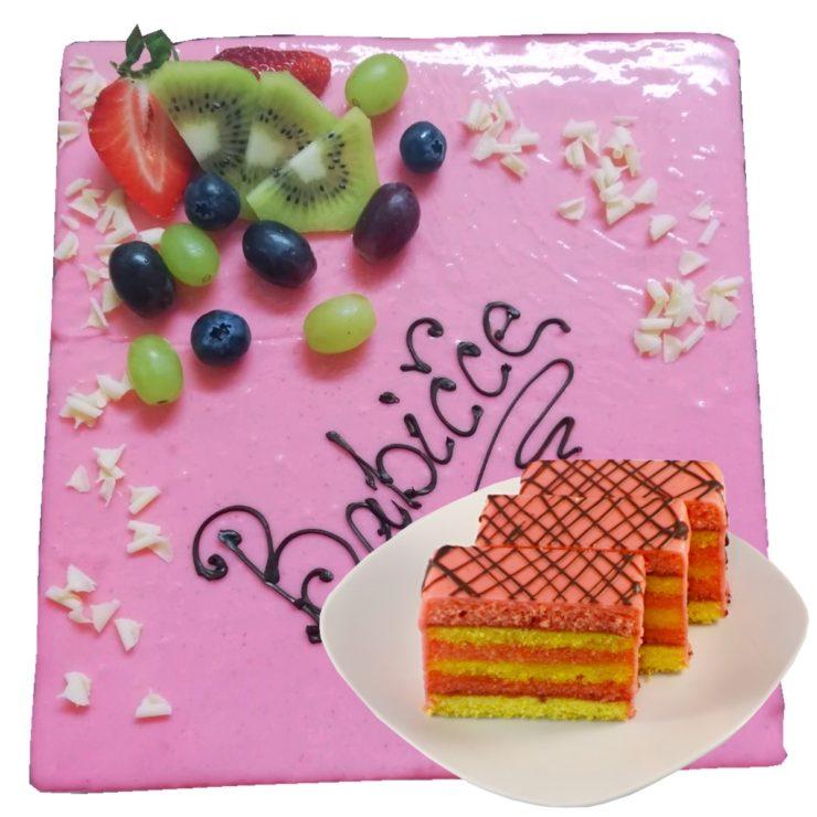 Punčový dort (pouze na objednávku)