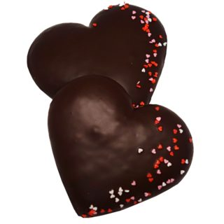 Perníkové srdíčko v čokoládě