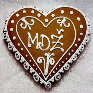 Perníkové srdce MDŽ