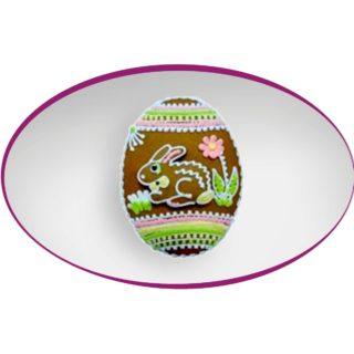 Perníkové vejce se zajícem 15 cm