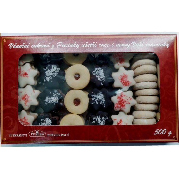 Vánoční cukroví s náhradním sladidlem 500 g za 390,- Kč